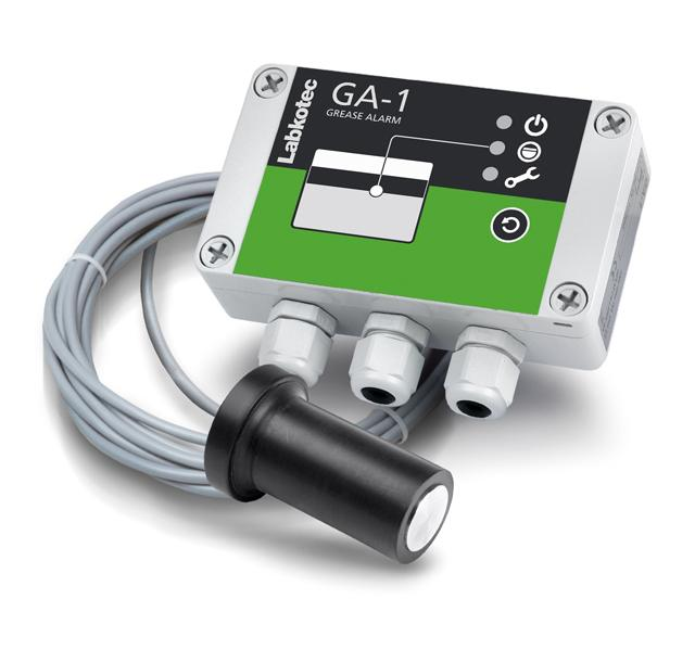 GA-1 alarm device for monitoring grease layer in a grease separator