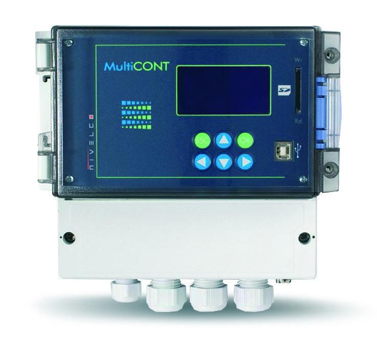 MultiCONT ohjaus- ja mittauslaite