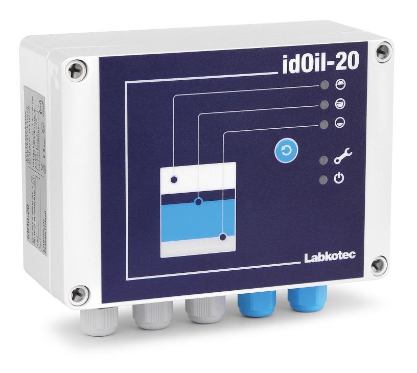 idOil-20 oil separator alarm device