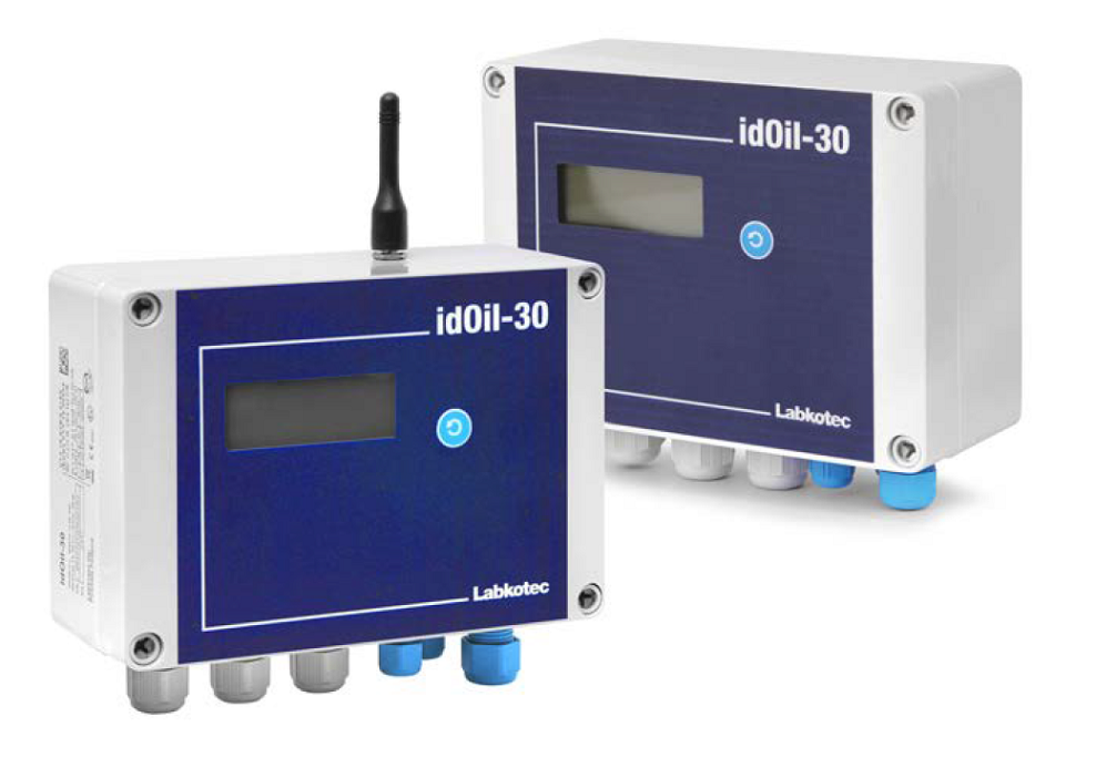 Alarm system for monitoring liquid levels in oil separators