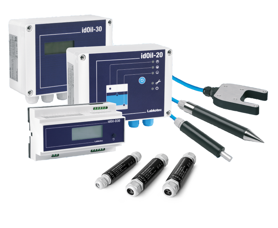 idOil alarm device systems for oil and grease separators