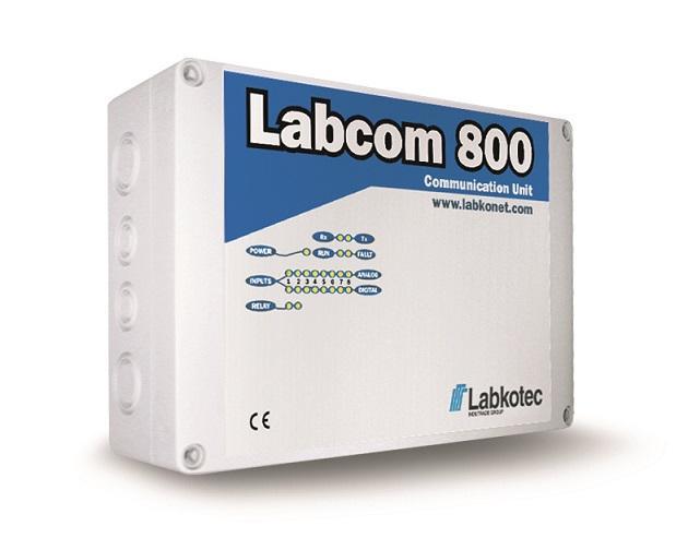 Labcom 800 Measurement and communication unit