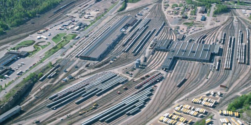 Pasila railway yard