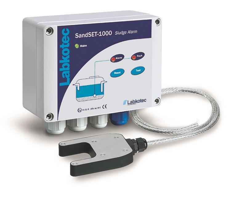 SandSET-1000 sludge alarm device for oil separators