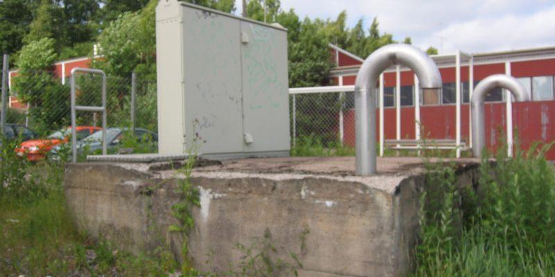 Säynäskujan jätevedenpumppaamo