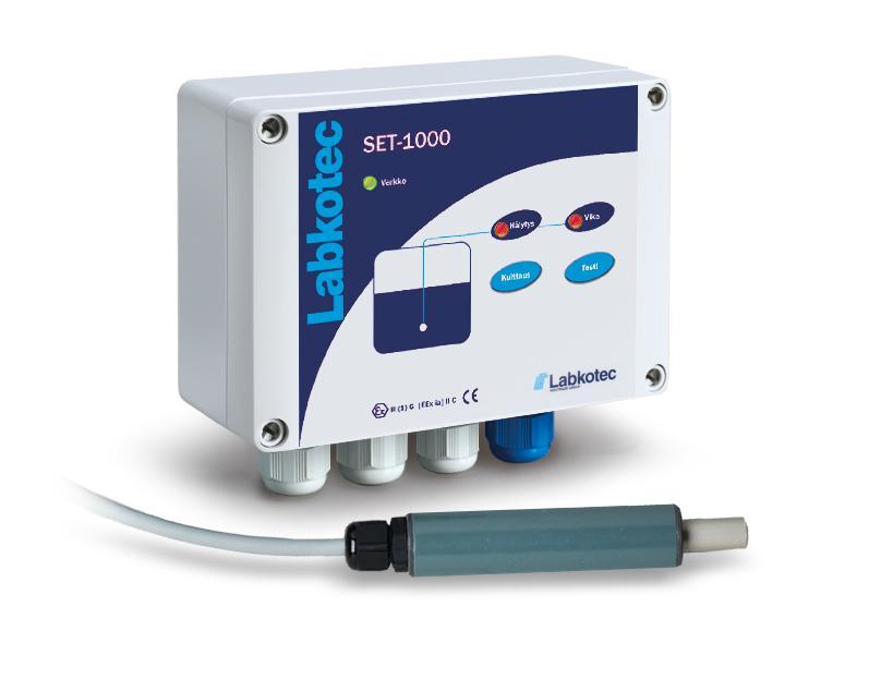 Alarm device SET-1000 and SET/V for overflow monitoring